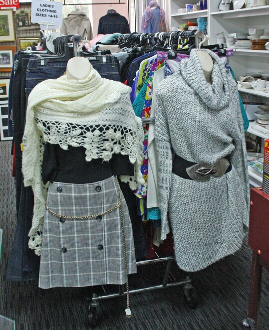 op shop outfits