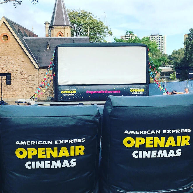 Open Air Cinema from American Express
