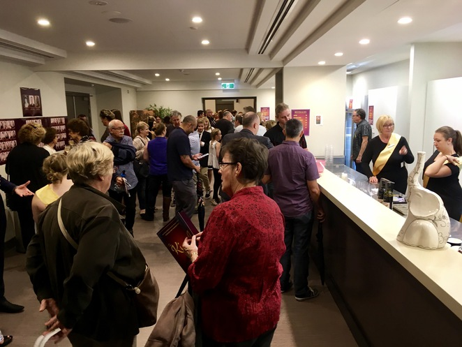 Opening night, the king and I, musical, Rockdale musical society, Rockdale town hall