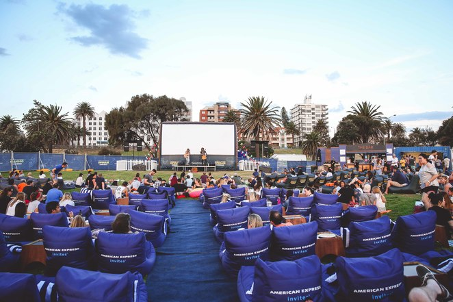 outdoor movies in adelaide riverbank