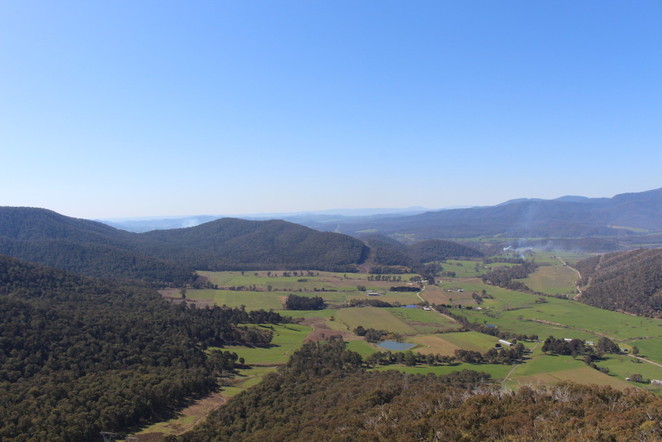 powers lookout, high country