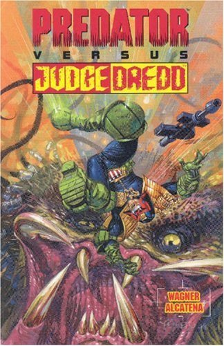 predator vs judge dredd, Judge Dredd, Predator, comics, crossovers, comic crossovers, mash-ups