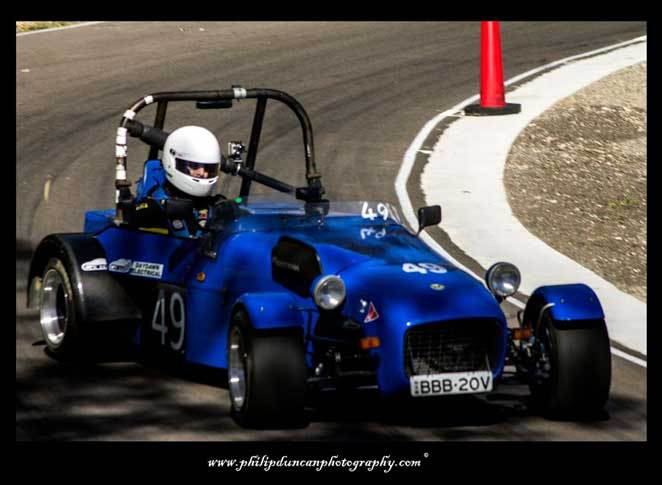 Racing Car, Hill Climb, Ringwood park.