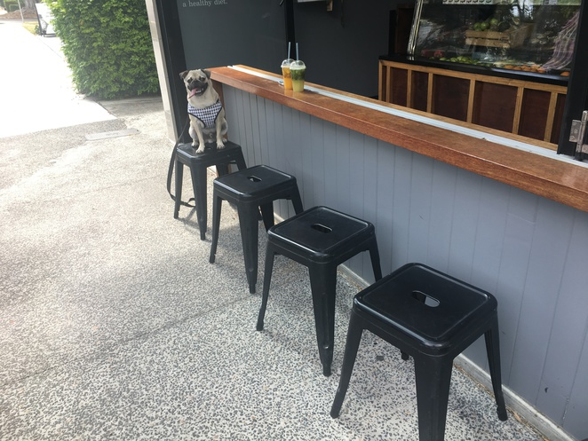 raw juicery, bulimba, cafe, dog friendly, vegan, juice bar, brisbane, eastern suburbs, southern suburbs, south side, acai bowl, yogi beer, hurraw lip balm, salad, healthy eating, health foods