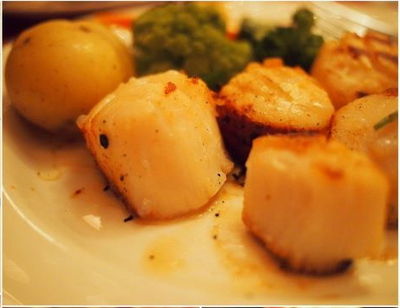 Scallops at Oyster Bar & Restaurant