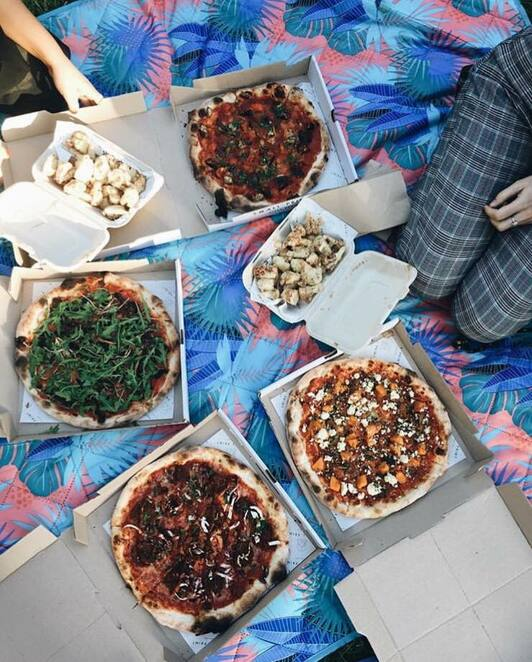 Small Print Pizza in the Park