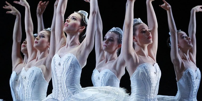 the australian ballet, swan lake, once upon a time