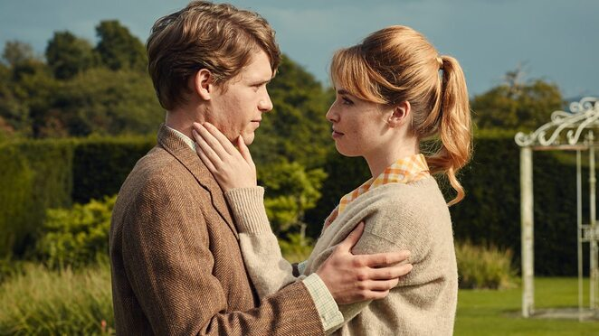 The Sense of an Ending Movie, Charlotte Rampling is Senior Veronica Ford, Billy Howle is Young Tony Webster Jim Broadbent is Tony Webster Harriet Walter is Margaret , Tony's ex-wife Michelle Dockery is Susie, Tony and Margaret's daughter Joe Alwyn is Adrian Finn Freya Manor is Young Veronica Emily Mortimer is Sarah Ford, the mother of Veronica Directed by Ritesh Batra, written by Nick Payne, Book by Julian Barnes,