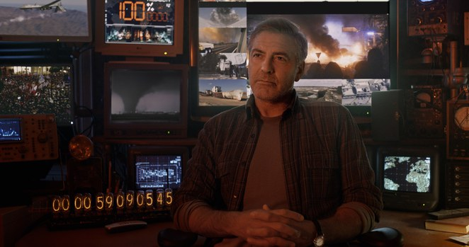 Tomorrowland George Clooney plays inventor Frank Walker