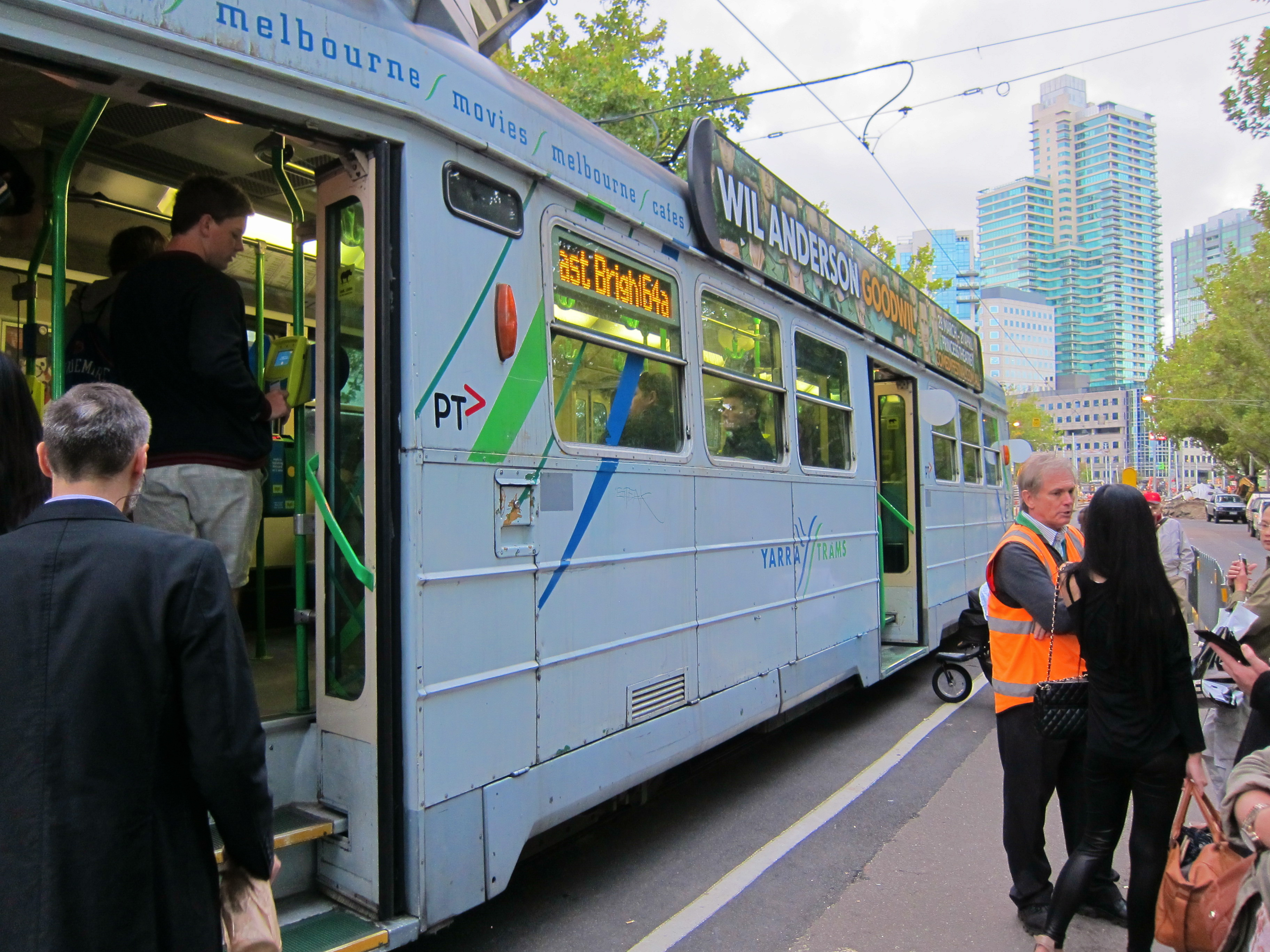 how to buy a tram ticket in melbourne