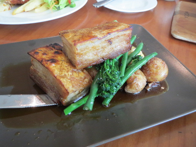Wallis Tavern, Slow Braised Apple Pork Belly, Adelaide