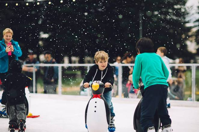 winter festival, canberra, ACT, 2016, july, school holidays, ice skating,