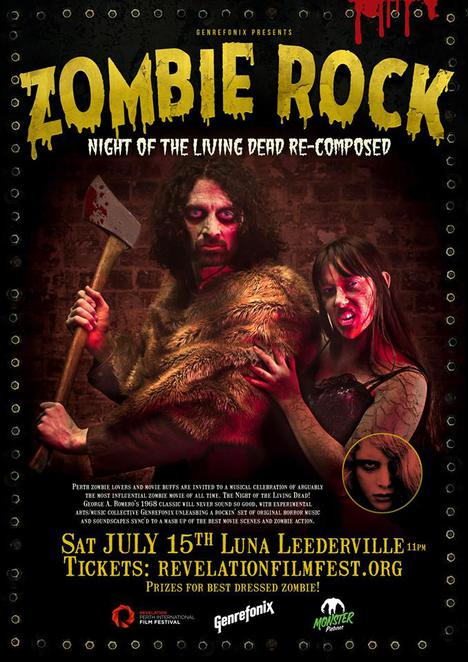 Zombie, Night of the Living Dead Recomposed, Night of the Living Dead, Dead, Zombie, The Walking Dead, Moondyne Joe, Ghost, Rock, Band, Live Band, Live, Movie, Film, Event, Leederville, Luna, Cinema, Axe, Convict, Prison, Perth, History, Burlesque, Dance, Dancer, Dancers, Soxie Liqueur'e, Genrefonix, Music, Salvia Circles, Minx Anarchy, Sexy, Hoops, Hula Hoops, Hula, LED, Silk, Silk Fans, Fans, Fan, Horror, Art Deco, Retro, After Party, Party, Babushka's, Revelation Perth International Film Festival, Film Festival, Festival, Night, Living, July, Dress Up, Dress Up Party, Costume, Event, Costume Party, Win, Competition, Prize, Win Prizes, Monster Pictures, Monster Fest, Monster, Black & White, Colour, Blood