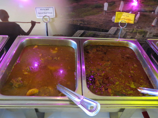 Abyssinian Restaurant, Meat Buffet Selection, Adelaide