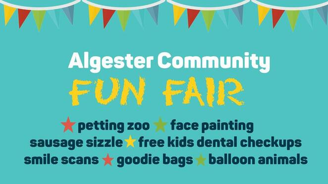 algester community fun fair 2019, community event, fun things to do, national dental care algester, petting zoo, face painting, sausage sizzle, free kids dental checkups, smile scans, goodie bags, balloon animals, fun filled family day, activities, entertainment, face painting, sausage sizzle