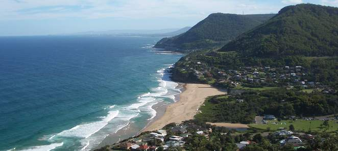 bald hill view of stanwell park