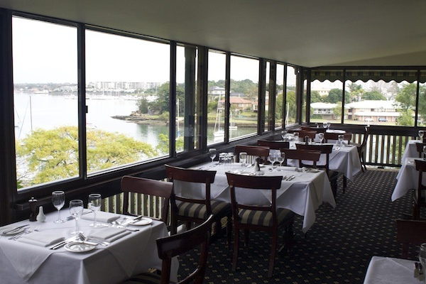 banjo paterson, restaurants in gladesville, restaurants with views gladesville, banjo paterson cottage restaurant