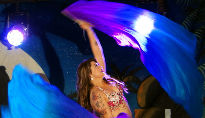 Belly dance combines beauty, expression, culture and fitness
