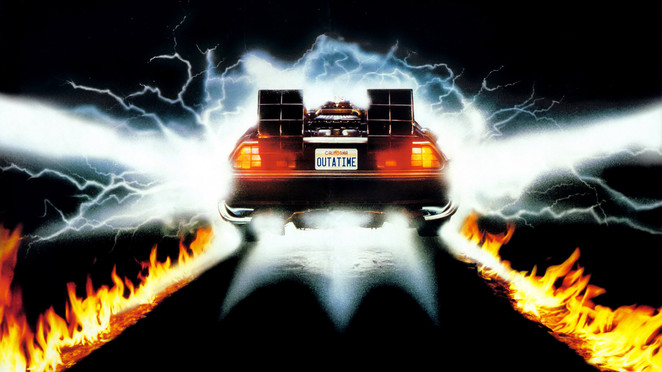 Blast back to the future with this joy ride.