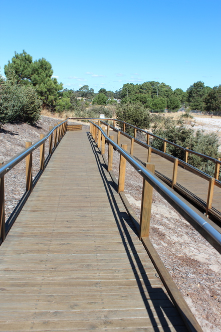 Boardwalk Perth Viewing Area Wheelchair and Pram Accessible Buggy Rail