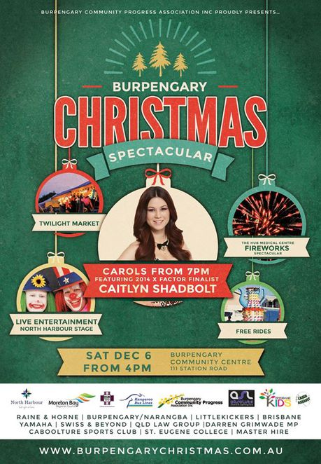Burpengary, Christmas, Festival, Fair, Markets, Carols, Fireworks, Rides