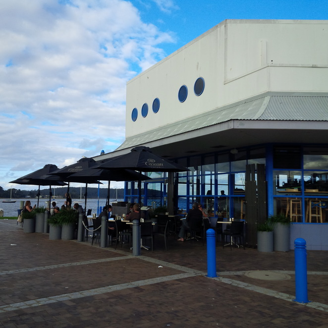 cafe, deli, waterfront, restaurant