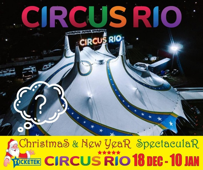 Christmas and New Year Spectacular, Circus Rio, travelling circus, Christmas Wonderland, international performers, aerial angels, jolly jugglers, acrobatic elves, Santa, Cyr wheel, hand-balancing, clowning, illusion, FMX riders, young, young-at-heart, families, teenagers, December, January, come one, come all, Covid regulations, Sportsmans Parade, Bokarina