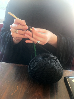 coffee and craft with bronwen, arribaa