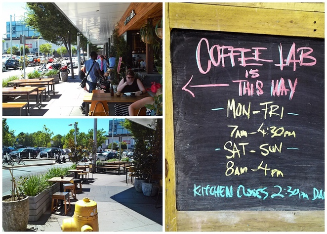 coffee lab, canberra, coffee, cafe, breakfast, lunch, cronuts, outside seating