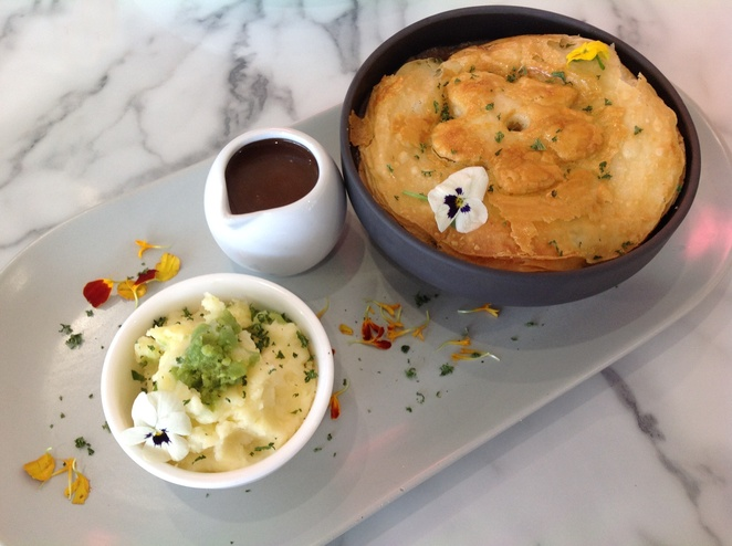 Copper and Cocoa Beef Bourguignon Pot Pie