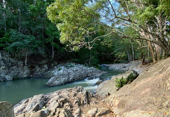 Currumbin Rock Pools in the Gold Coast Hinterland