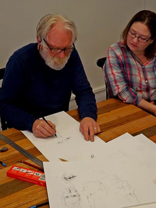 Drawing Course with Bill McSwain at Kuoni Creative