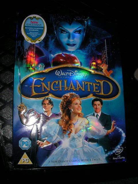 enchanted dvd review