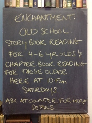 Enchanted Readings at Brown and Bunting Booksellers
