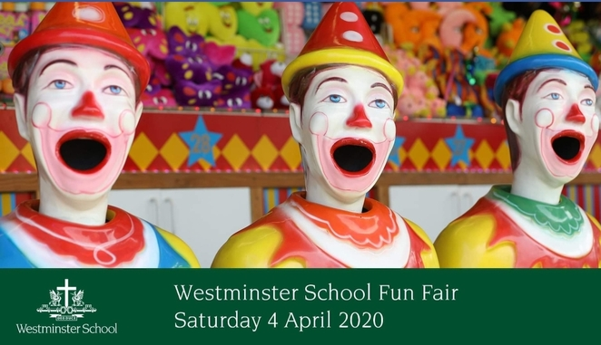 Fair, fete, food, market, animal nursery, live entertainment, Westminster School, School Tours