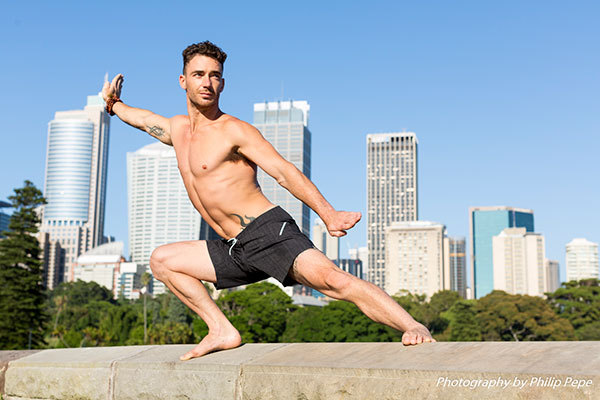 FreeFly Yoga, Sydney, Royal Botanic Gardens, Andrew Boy Charlton Pool, Yoga