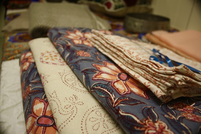 If you need advice on textiles Fabric of Life is the place to go.