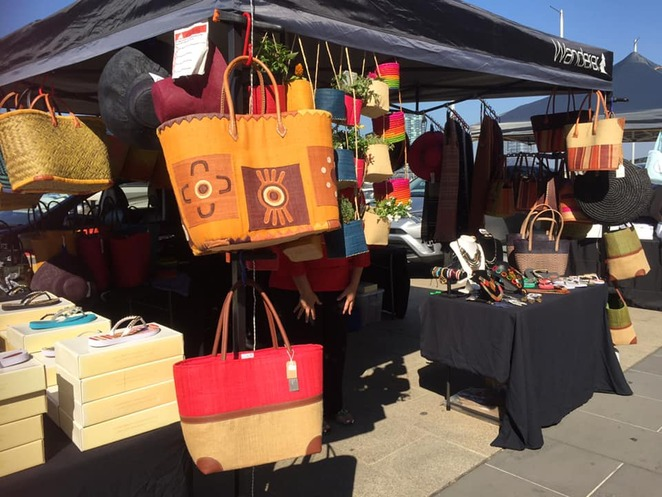 handmade, bags, hats, market, mother's day