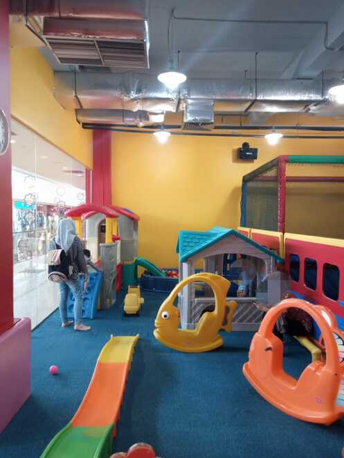 Jump n Gym soft play for younger children