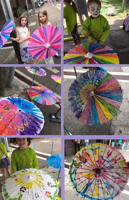 Little Umbrella craft