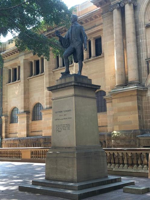 Matthew Flinders, Free Walking Tour Sydney