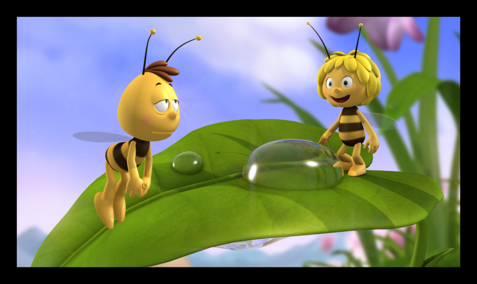 It is a photo of Accomplished Maya the Bee Image
