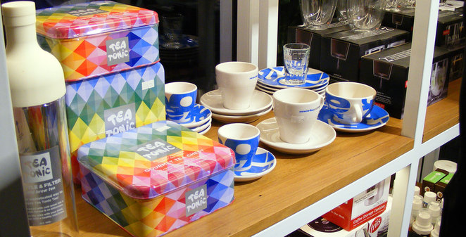 Products for sale at Merlo Coffee