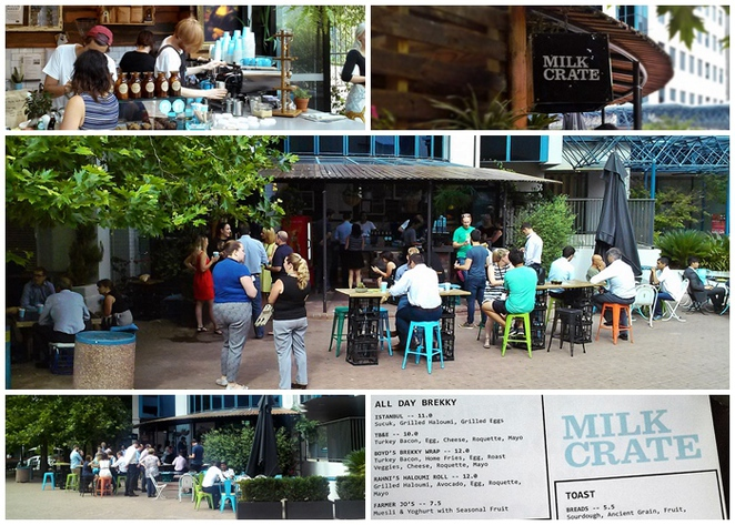milk crate, canberra, ACT, best cafes, hidden cafes, breakfast, lunch, new cafes, takeaway coffee, best coffee, canberra city, CBD,