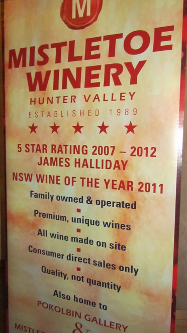 mistletoe wines, hunter valley wineries, pop up wine bar