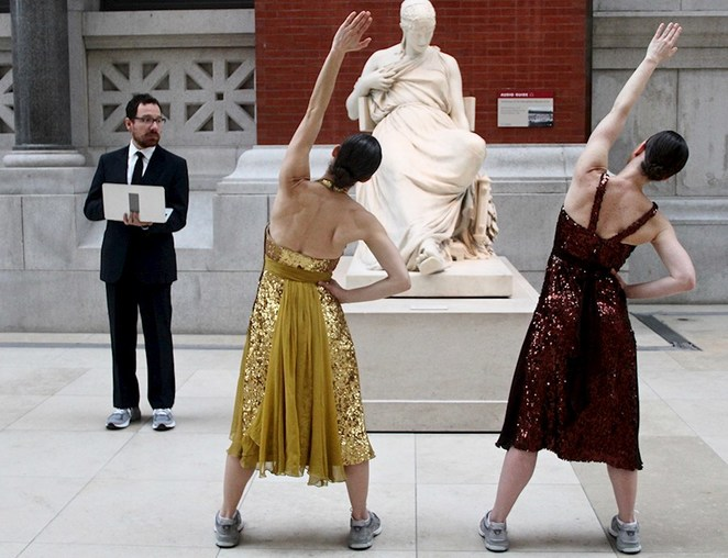 monica bill barnes & company's the gallery workout, meeting point, smorgon plaza, arts centre melbourne, ngv, community event, fun things to do, dance company, australian dancers, music, american artist maira kalman, dance where it doesn't belong, art gallery