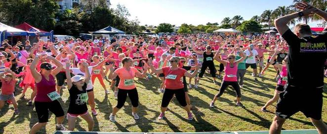Mother's Day Classic, Sunshine Coast, breast cancer research, fundraising, 4km walk, 4km and 8km run, register on-line, canal at Brightwater, certificate of participation, tribute cards, 2017 medallion, volunteer, donate, cheer-leading