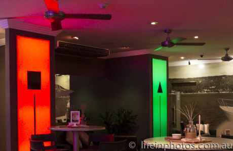 Nautical Theme, Red and Green Markers, Waterfront Dining, Coomera River, Waterfront Restaurant