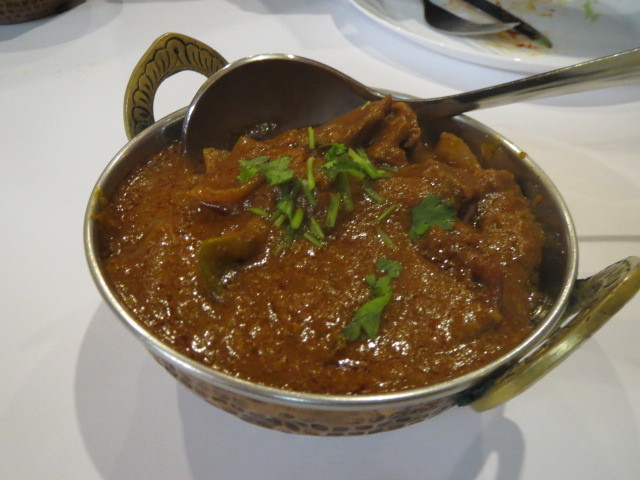 New India Restaurant, Beef Masala, Adelaide