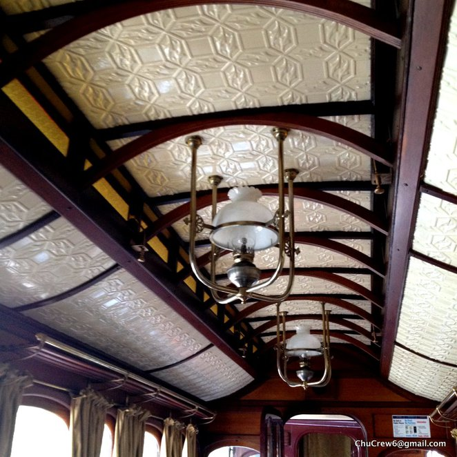 Puffing Billy, steam and cuisine, train dining, steam train, first class